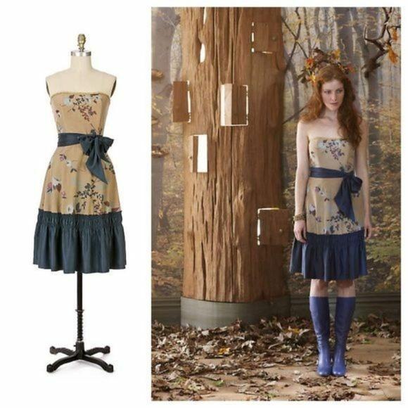 Anthropologie Dresses & Skirts - Anthropologie Tabitha Winter Flame Dress